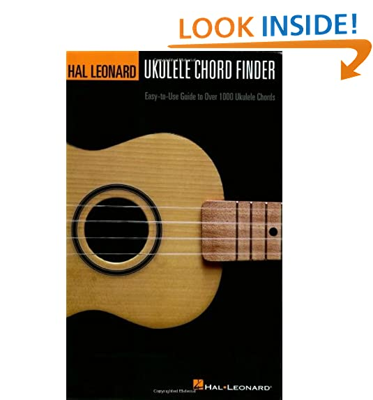 Ukulele Chord Chart Amazon