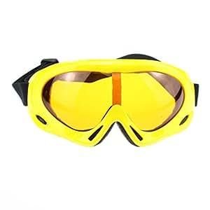 ZZQQKK Nuevo Estilo De Esquí Profesional Gafas De Protección UV400 Anti-vaho A Prueba De Polvo De Nieve Anteojos De La Motocicleta De La Bicicleta Gafas De Deportes Al Aire Libre De Protección Gafas De Seguridad Para Bicicleta De La Motocicleta Motos De Nieve - Hombre Y Para Mujer Esquí Cross Country Gafas Moda Alpinismo Deportes Al Aire Libre,Yellow