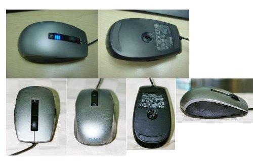 9158f3dbbd6 Genuine Original DELL USB Optical 6 Button Laser Mouse , SILVER , upto 1600  dpi , User selectable 400 dpi to 1600 dpi Dell P/N: K251D , U770D , M534D,  ...