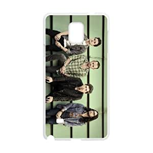 Samsung Galaxy Note 4 Cell Phone Case White Kings-Of-Leon Phone Case Cover Custom Hard XPDSUNTR19111