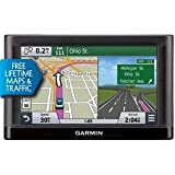 GARMIN 010-01211-04 nuvi(R) 65 6'''' GPS Travel Assistant with Free Lifetime Maps (65LMT; Includes free traffic avoidance) Consumer electronic