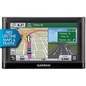 GARMIN 010-01211-04 nuvi(R) 65 6'''' GPS Travel Assistant with Free Lifetime Maps (65LMT; Includes free traffic avoidance) Consumer electronic by Garmin