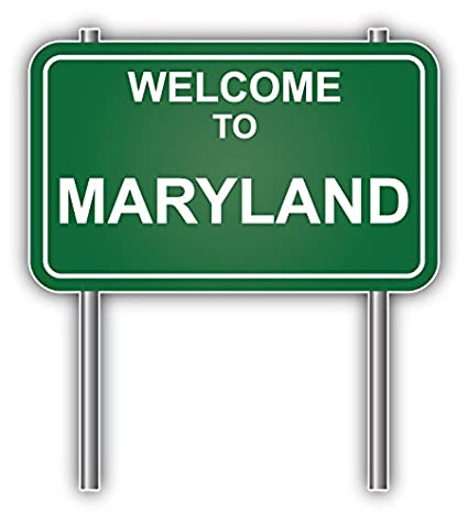 Image result for maryland welcome sign
