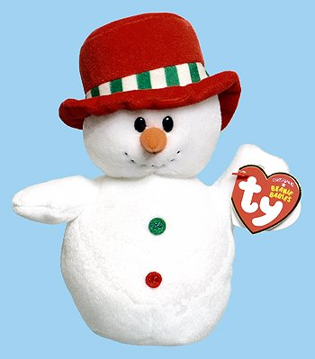 - Ty MELTON the snowman Beanie Baby 2012 Walgreens Exclusive
