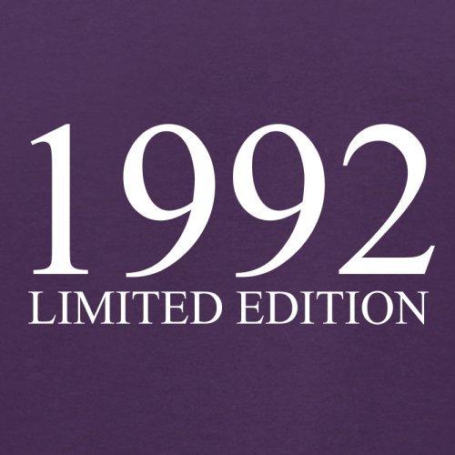 1992 Limierte Auflage / Limited Edition - 25. Geburtstag - Herren T-Shirt - Lila - M
