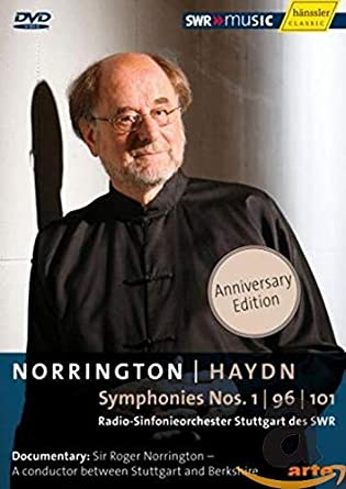 Norrington : HAYDN Symphonies Nos.1, 96 & 101 [DVD] [Import]