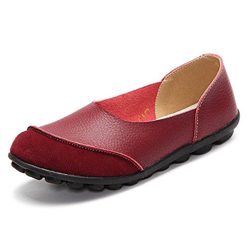 Y amp;G Mujer Zapatos Casual Comodidad Suave Mocasines Flats Mujeres NGRDX De B Plana Femenino vCwtqHCd