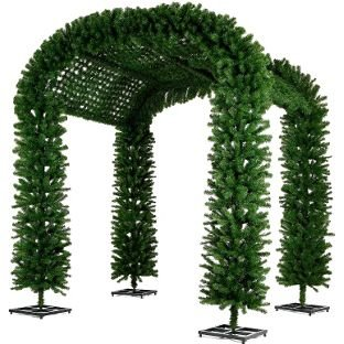 Gendarmerie Arch Tunnel - 8.5ft Artificial Christmas Tree.: Amazon ...