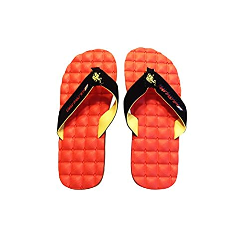 362eeaf5eed97 high-quality U.S. Polo Assn. Men s Premium Sandals RESORT SPA RED Flip Flops  Massaging
