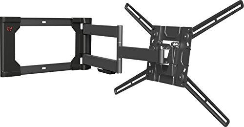"""Mount Wall Barkan - Barkan 40""""- 80"""" Full Motion - 4 Movement, Flat/Curved TV Wall Mount, Up to 110 lbs, Extra Stability. Patented."""