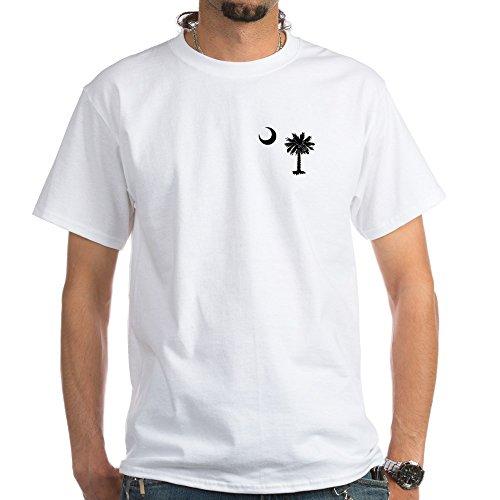 CafePress South Carolina Palmetto 100% Cotton T-Shirt, White]()