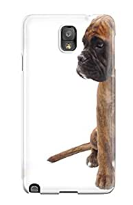 Michael paytosh Scratch-free Phone Case For Galaxy Note 3- Retail Packaging - Cat And Dog