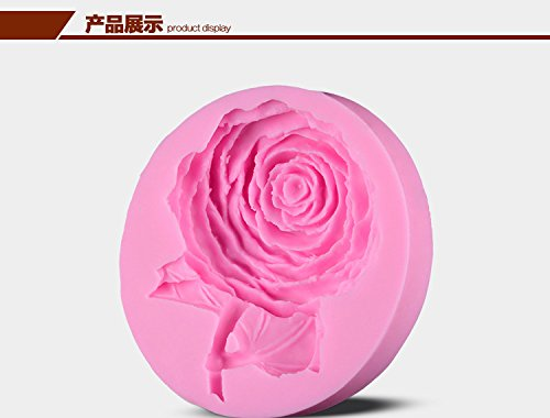 MOMACAKE 3D silicone fondant mold sugar art chocolate mold Flower petal shape soap mold cake decorating tools
