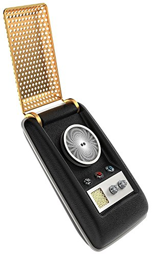 Star Trek: TOS Bluetooth Communicator - Cell Phone Handset and Speaker - With Collectible Display Case