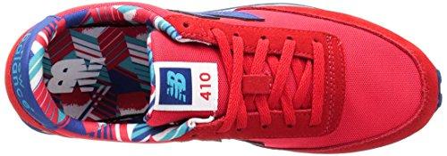New Balance 410, Zapatillas para Mujer Rojo (Red)
