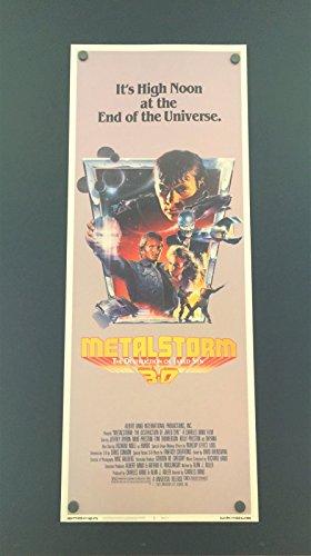 Metal Storm 3D Movie Insert Poster 14 x 36