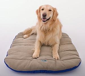 B000O9SER88MU Doggles Travel Dog Bed, Blue