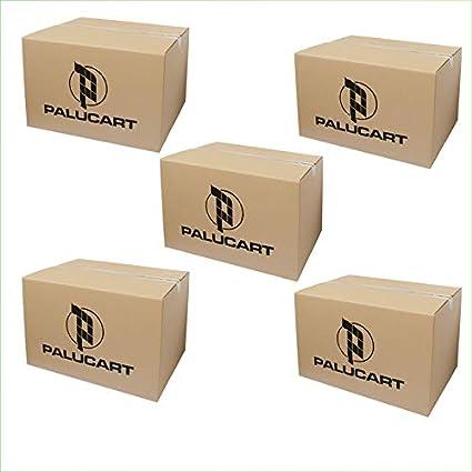 palucart 5 cajas mudanza 60 X 40 X 40 cajas de cartón Cartón cajas embalaje árbol de navidad embalar cajas de cartón: Amazon.es: Oficina y papelería