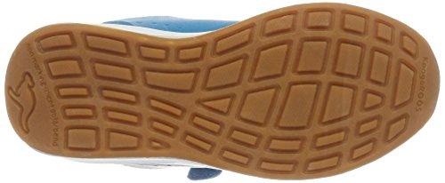 KangaROOS Unisex-Kinder Rodo EV Sneaker Blau (dk smaragd/Magenta)
