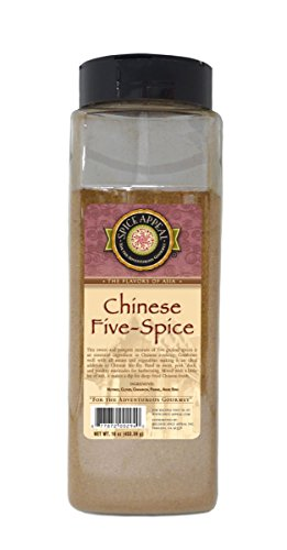 Spice Appeal Chinese Five-Spice, 16 Ounce Chinese Five Spice Seasoning