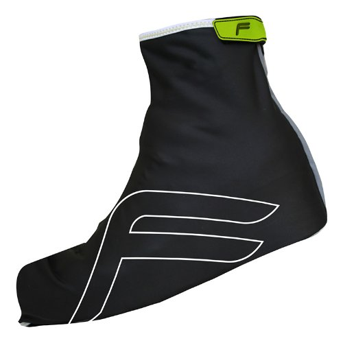 F Lite Basisschicht Rain Shoes Cover for Cyclists, Schwarz, 47-49, 23-376046030002