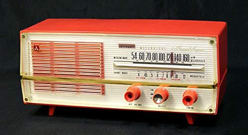 三菱 MITSUBISHI 5P-468 真空管ラジオ MW/SW(中波/短波ラジオ) B07HBQMYDL