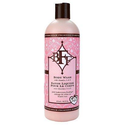 JAQUA BFF Pink Buttercream Frosting Body Wash (Frosting Shower Pink Buttercream)