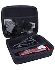 Aenllosi Storage Organizer Hard Case Compatible with Wahl Professional 5-Star Cordless Magic Clip #8148/#8504/#8509 with Hair Cutter Salon Cape(only case)