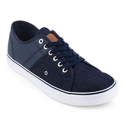 Navy UNIONBAY Mens Grant Low Top Sneaker naaXqr7