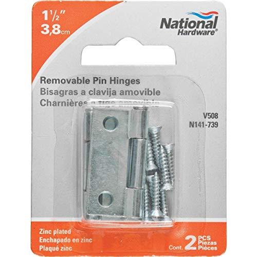 National Loose-Pin Light Narrow Hinge - N141739 Pack of 20