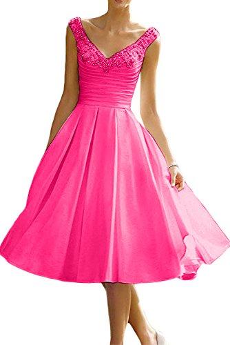 trapecio Vestido rosa Topkleider para mujer 38 5pa7p0nWx