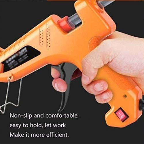 ASDFGH Hot Glue Gun 100W Mini Hot Melt Glue Gun with 30pcs Glue Sticks Suitable for DIY Arts Home Repairs Fabric Wood Glass Card Plastic Glue Gun
