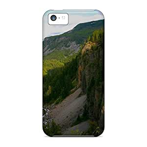 New Fashionable TinnySunshine RljdC6602BdstI Cover Case Specially Made For Iphone 5c(mountains Streams)