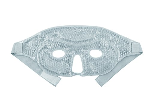 01314d0e Hot and Cold Therapy Gel Bead Facial Eye Mask by FOMI Care | Ice Mask for