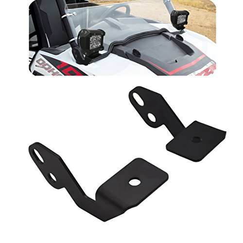 LED WORK LIGHT MOUNT BRACKET For UTV OFF ROAD 2014-2018 POLARIS RZR XP 1000 RZR 900 ()