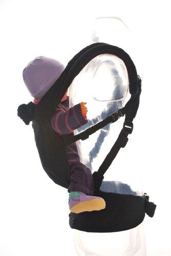 Patapum Toddler Carrier Black