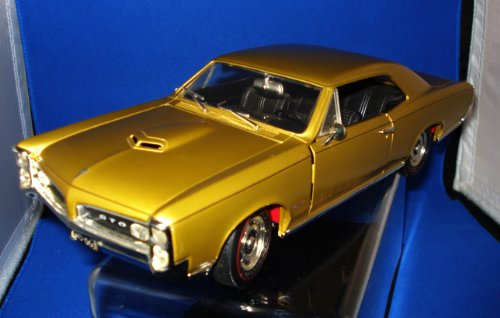 1966 Pontiac GTO Die Cast Model in Gold, 1:18 Scale by ERTL 18 Ertl Diecast Model