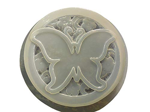 Decorative Butterfly Round Concrete or Plaster Mold ()