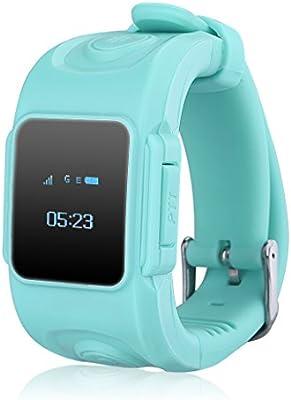 Excelvan Huppy - Reloj Inteligente Smartwatch para Niños (Pantalla 0.66