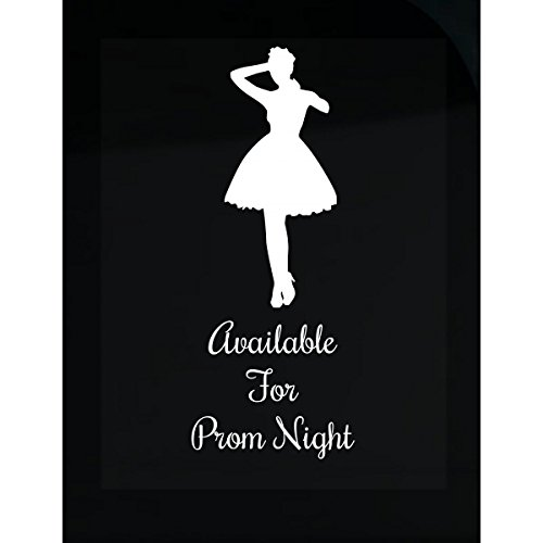 Available For Prom Night Dress Seven Look Best Party Theme - Sticker -