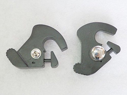 XFMT Detachable Sissy Bar Luggage Rack Latch Clip Kit Set Mount Compatible with Harley Touring