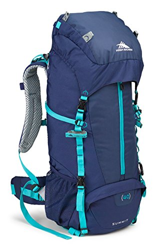 High Sierra Women's Summit 40 Internal Frame Pack, True Navy/True Navy/Tropic - Warehouse Frames