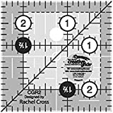 """Creative Grids Quilting Ruler 2 1/2"""" Square"""