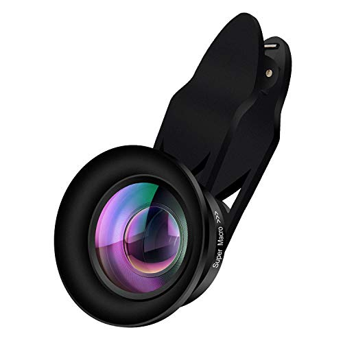 Phone Camera Lens,AiKEGlobal 2 in 1 110° Wide Angle Lens,15X Macro Lens, Clip on Camera Lens Kit Compatible iPhone, Samsung, Most Smartphone (Aspherical and No Distortion) by AiKEGlobal