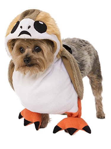 Rubie's Costume Co Star Wars Porg Pet Costume, Large ()