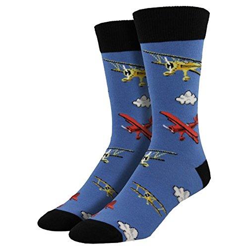 - Socksmith Mens' Novelty Crew Socks
