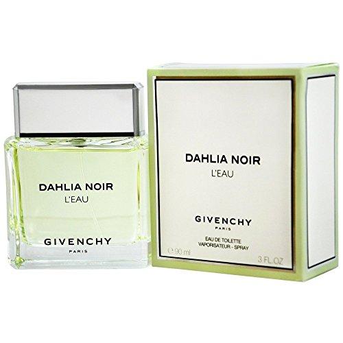 Givenchy eau de toilette spray for women dahlia noir leau 3 ounce