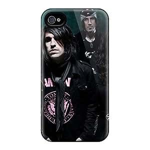 Iphone 4/4s AuE10709URYz Unique Design Stylish Lacrimas Profundere Band Pictures Great Hard Phone Case -RitaSokul