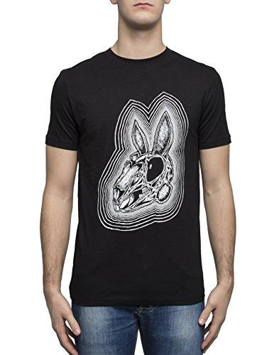 McQ Alexander McQueen Men's 277605Rjr361000 Black Cotton T-Shirt