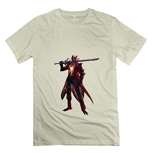 Boys Devil May Cry T Shirt/Natural T Shirts